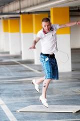 Interview met tapdansdocent Jason Janas.