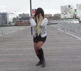 Junadry Leocaria in de dansvideo van Dans Magazine.