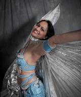 Danseres Cassandra door Tineke Jongewaarrd.
