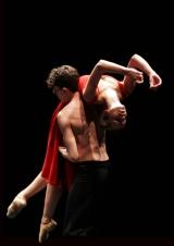 Choreografie Passage tijdens het Benefietgala Dansersfonds '79.