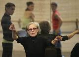 Werk van beroemde choreografe Lucinda Childs. Foto door Hans Gerritsen