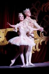 De Suikerboonfee in het ballet de Notenkraker van Royal Ballet 2009