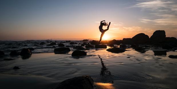 De voordelen van yoga op dans