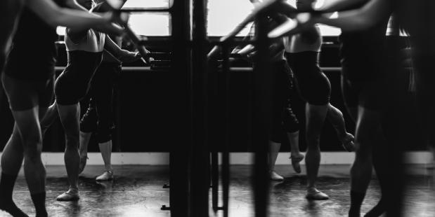 set dansers klassiek ballet