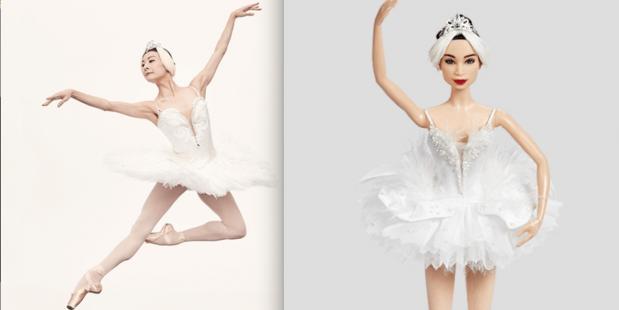 dans, barbie, ballerina, yuan yuan tan, shero, inspiring women,