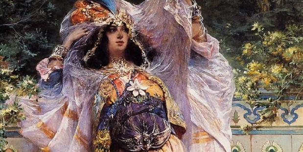 Georges Clairin. An Ouled-Nail Tribal Dancer.
