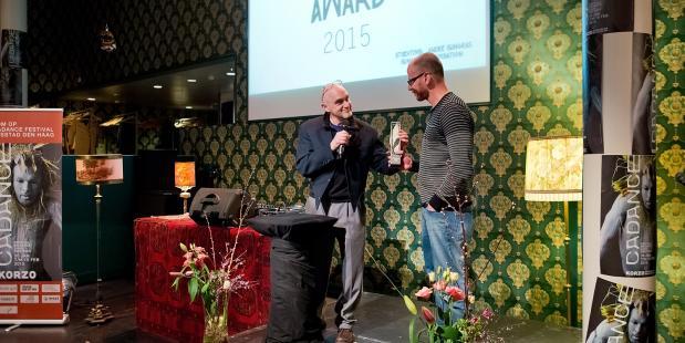 Guilherme Miotto ontvangt André Gingras Award 2015