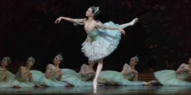 Anna Ol in The Sleeping Beauty. Foto Marc Haegeman