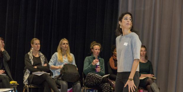 Danspiratie conferentie in 2016. Foto Nadine van Spanje