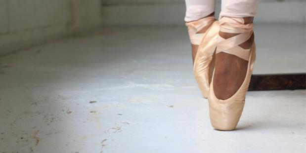 Dansen en balletschoenen