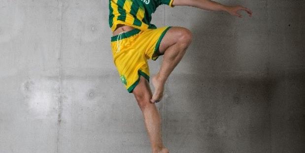 Uniek educatieproject Holland Dance Festival en ADO Den Haag brengt voetbal en dans samen. Foto Sjoerd Derine