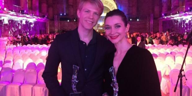 Eerste solisten Marijn Rademaker en Anna Ol