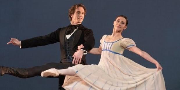 Anna Ol & Artur Shesterikov in Onegin. Foto Marc Haegeman