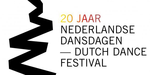 Jubileum-logo 2017: 20 jaar Nederlandse Dansdagen