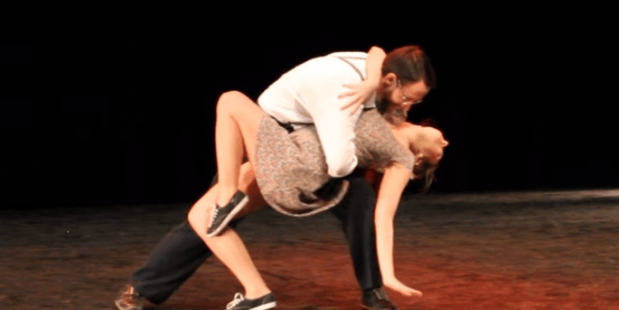 "Beeldstil via YouTube. 10 Lindy Hop- ""In The Mood""- Marine & Guillaume."