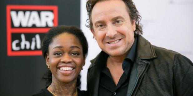 Michaela DePrince en Marco Borsato, foto War Child