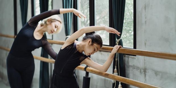 Ballet barre volgorde balletbarre klassiek ballet les