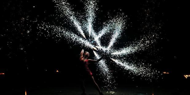 Dansers tijdens de feestdagen