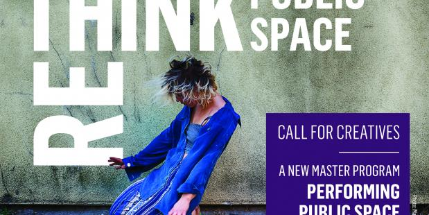 Nieuw Masterprogramma: Performing Public Space