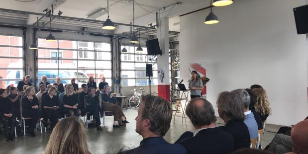 Debat Staat van de Dans 2017, foto Marc Maris