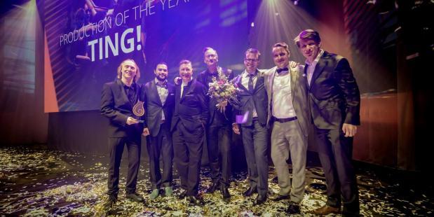 Uitreiking Production of the Year - Fotografie Jorrit Lousberg