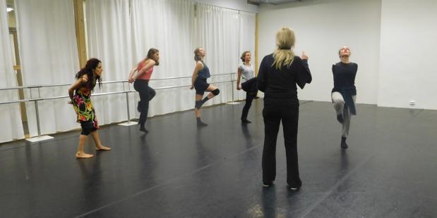 Workshop 'Infinite en masse' met Krisztina de Châtel