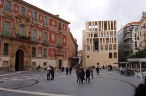 Plein in Murcia, Spanje. Beeld via Wikipedia