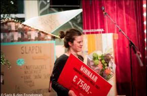 Foto: Saris & den Engelsman - Wie volgt Charlotte Bouckaert op en wint de Dioraphte Cement Prijs 2016?