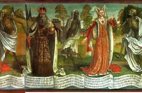 'Dodendans', Bernt Notke. St. Nicolaaskerk, Tallinn.
