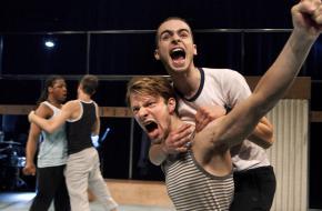 Foto: Phile Deprez - 'Staal', Maas Theater en Dans