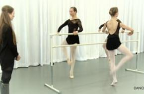 Beeldstill balletles van Julie Kent, via Vimeo