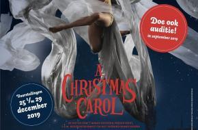 Gezocht dansers van 5 tot 65+ jaar, van alle niveaus voor DeDDDD's nieuwste kerstvoorstelling 'A Christmas Carol'.