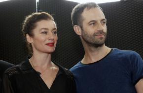 Wisseling van de wacht, Aurelie Dupont en Benjamin Millepied - persbijeenkomst 4/2/16, Parijs. Foto: Chesnot/Getty Images