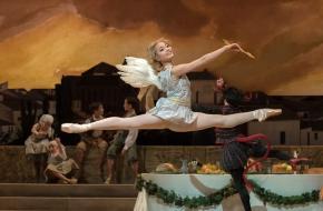 Balletvoorstelling Don Quichot van Het Nationale Ballet