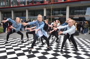 Demonstratie streetdance: Dance Wise. © Jordi Menheer