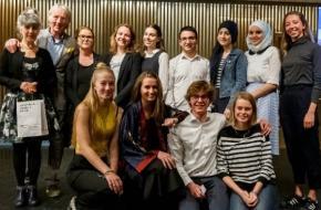 Freek & Hella de Jonge, Els van der Plas en de jonge ambassadeurs door Michel Schnater