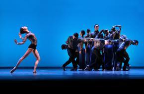Het Nationale Ballet - Concerto Concordia met Anna Ol & Jozef Varga, ensemble. © Hans Gerritsen