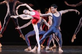 Piano Concerto #1 uit Shostakovich Trilogy door Het Nationale Ballet. Fotograaf: Hans Gerritsen