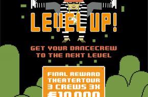 Nieuw Dansproject aangekondigd: LEVEL UP!