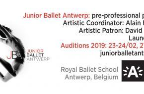 Audities voor de Junior company bij de Koninklijke Balletschool Antwerpen