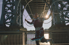 Hoopdancer Lisa Odjig