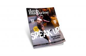 De nieuwe vormgeving van Dans Magazine.