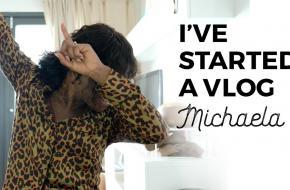 Michaela de Prince, dans, vlog