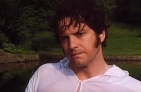 Colin Firth als Mr Darcy in Pride and Prejudice 1996