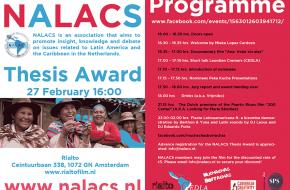 De Nederlandse Vereniging voor Latijns Amerikaanse en Caribische Studies (NALACS)