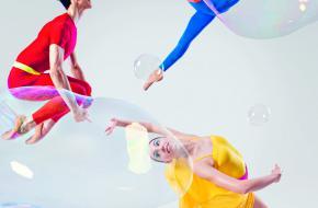 2x2 vrijkaarten voor Ballet Bubbels van Junior Company