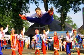 Danser is spagaat SIVO © Garko van der Helm