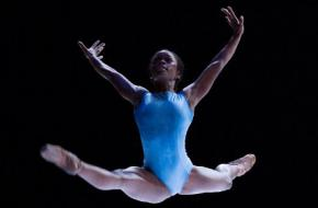 Michaela DePrince in 'A million kisses to my skin' - David Dawson. Foto: Angela Sterling