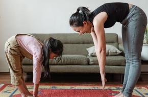 Challenge TikTok thuis dansen trainen