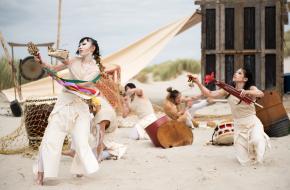 Dans op Oerol. © Marloes van Doorn